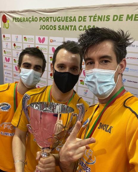 Grupo Desportivo dos Toledos vence Taça de Portugal de ténis de mesa 2020-2021